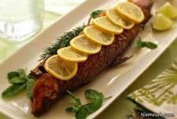 پودرسوخاری ماهی دودی